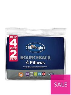 Silentnight Bounceback Pillows – Buy 4 Get 2 FREE