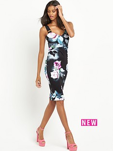lipsy-floral-print-dress
