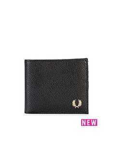 fred-perry-scotch-grain-wallet-black