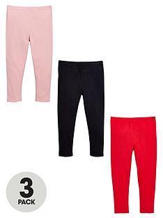 ladybird-toddler-girls-3pk-plain-essential-leggings-1-7-years