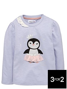 ladybird-girls-penguin-with-tutu-top-12-months-7-years