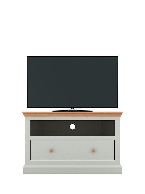 pretty nice 80f68 012bf Hannah Corner TV Unit - Sage/Oak-Effect - fits up to 46 inch TV