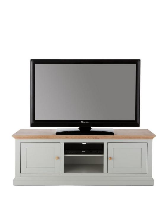 Hannah Wide Tv Unit Sageoak Effect Fits Up To 70 Inch Tv Very