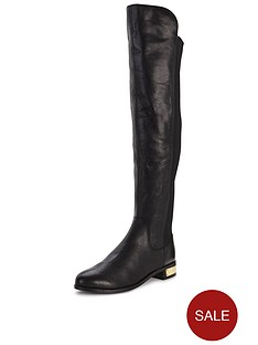 carvela-pacific-stretch-back-leather-knee-boot
