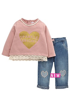 ladybird-baby-girls-sweat-and-jean-set