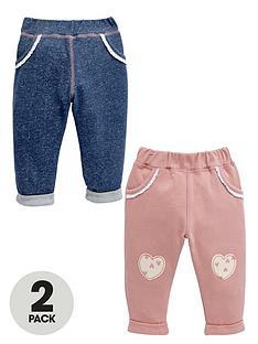 ladybird-baby-girls-joggers-2-pack