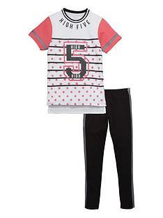 freespirit-girls-high-five-top-and-leggings-set