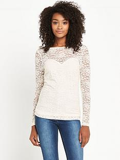 definitions-definitions-sweetheart-neck-lace-top