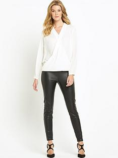 definitions-long-sleeved-wrap-front-blouse