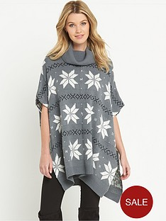 south-fair-isle-sequin-christmas-poncho