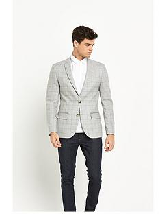 river-island-checked-blazer