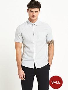 river-island-bengal-stripe-mens-shirt-grey