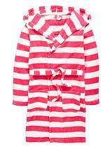 Girls Stripe Robe
