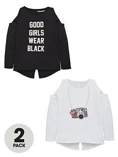 freespirit-girls-cut-out-shoulder-t-shirts-2-pack