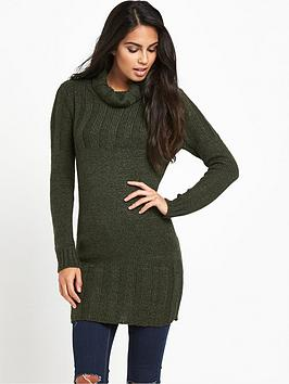 South Chunky Turtle Neck Tunic