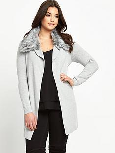 so-fabulous-plus-size-faux-fur-trim-belted-wrap-cardigan-14-28