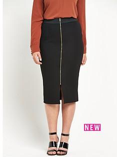 so-fabulous-zip-front-textured-pencil-skirt