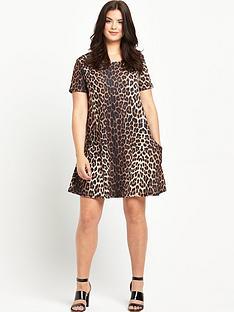 so-fabulous-so-fabulous-crepe-jersey-print-pocket-swing-dress