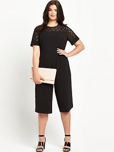 so-fabulous-so-fabulous-lace-yoke-cullotteampnbspjumpsuit