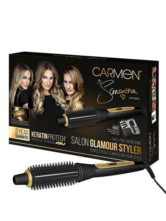 ef452ada0e3 Carmen By Samantha C81027 Salon Glamour Hot Air Styler | very.co.uk