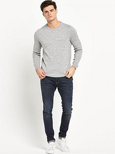 river-island-grey-melange-jumper