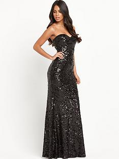 forever-unique-isla-bandeau-sequin-maxi-dress