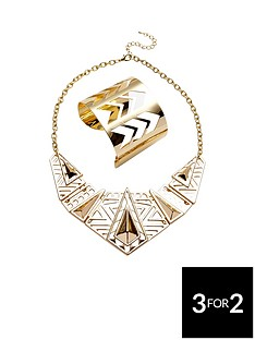 2-pk--nbspchevron-detail-cuff-and-necklace