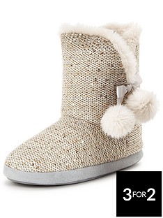 sorbet-buttercup-knitted-faux-fur-lined-slipper-bootnbsp