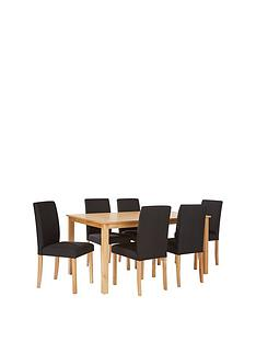 primo-170-cm-dining-table-6-fabric-chairs