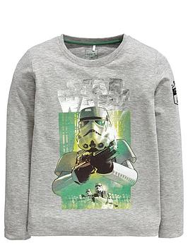 Star Wars Boys Stormtrooper Long Sleeve Top