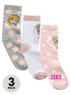 character-girls-ankle-socks-3-pack
