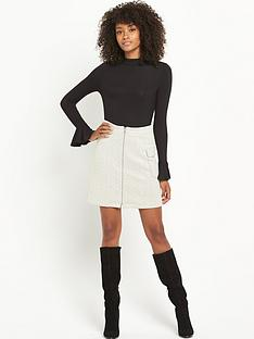 v-by-very-frill-sleeve-turtle-neck-top