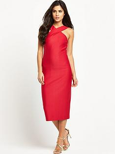 ted-baker-snake-jacquard-midi-dress