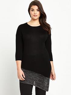 so-fabulous-plus-size-metallic-hem-asymmetric-tunic-jumper-14-32