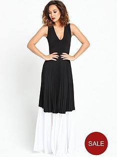 myleene-klass-pleat-maxi-dress