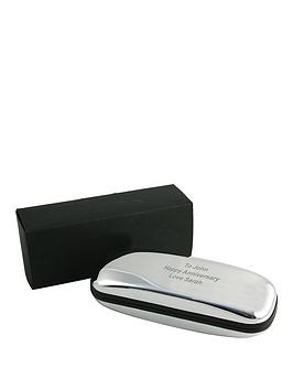 personalised-chrome-plated-glasses-case