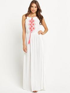 resort-embroidered-neon-cheesecloth-maxi-dress