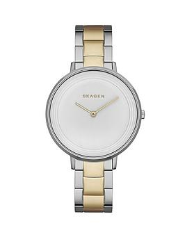 skagen-ditte-two-tone-stainless-steel-ladies-watch