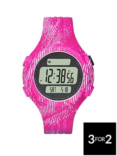 adidas-performance-positiveampnbspdisplay-dial-pink-animal-print-strap-ladies-watch