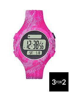 adidas-performance-positiveampnbspdisplay-dial-pink-animal-print-strap-ladies-watch