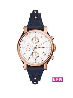 fossil-fossil-original-boyfriend-rose-gold-tone-case-with-blue-leather-strap-ladies-watch