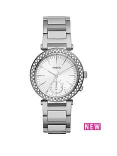 fossil-fossil-urban-traveller-crystal-set-multi-dial-stainless-steel-bracelet-ladies-watch