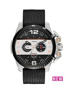 diesel-diesel-ironside-black-multi-dial-with-black-leather-strap-mens-watch