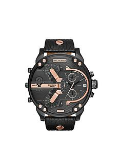 diesel-diesel-mr-daddy-rose-gold-highlights-and-black-multi-dial-with-black-leather-strap-mens-watch