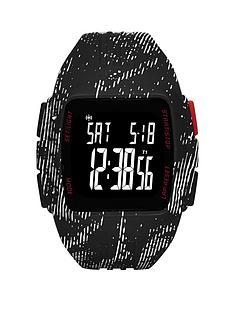 adidas-black-animal-print-strap-mens-watch