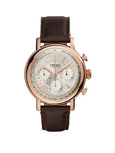 fossil-buchanan-rose-gold-case-with-brown-leather-strap-mens-watch