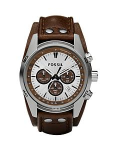 fossil-coachman-chronograph-cuff-brown-leather-strap-mens-watch
