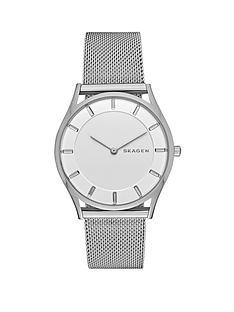 skagen-slim-holst-stainless-steel-mesh-bracelet-ladies-watch