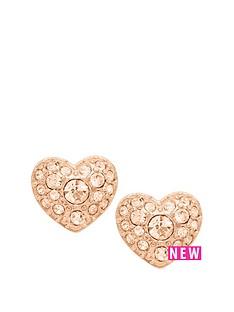 fossil-fossil-peach-crystal-set-heart-stud-earrings