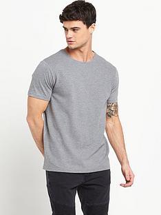 river-island-textured-rib-t-shirt